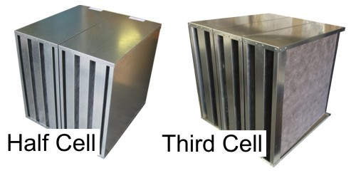 Activated Carbon Discarb Filters - Half and Third Cells